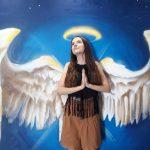 Trickart maľba Anjelské krídla