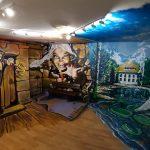 trickart maľba legendy Bojnice Jakušovský