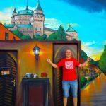 Maľba Dom ilúzií Bojnice Dowis