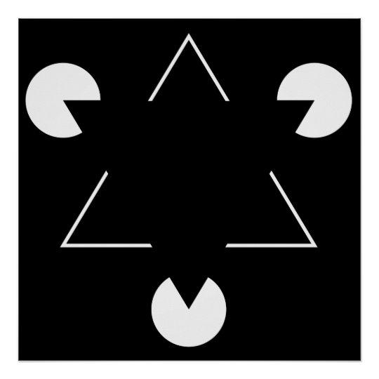 kanizsa trojuholník 3