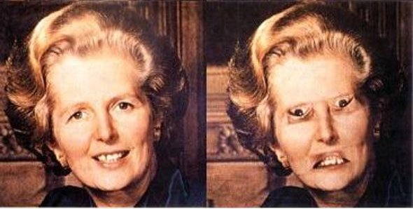 thatcher illusion 1